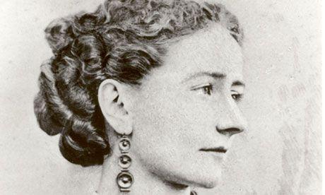 Ellen Ternan, English actress and mistress of Charles Dickens.