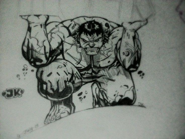 hulk, jishnu k on ArtStation at https://www.artstation.com/artwork/4yOeY