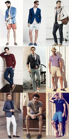 Men's Boat Shoes Outfit Inspiration