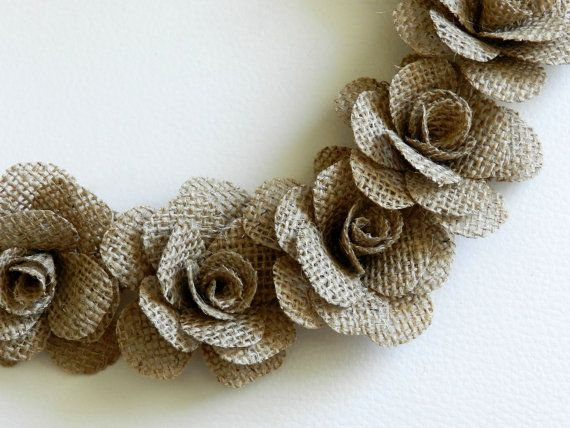 1000 ideas about burlap flowers on pinterest burlap for Burlap flower template