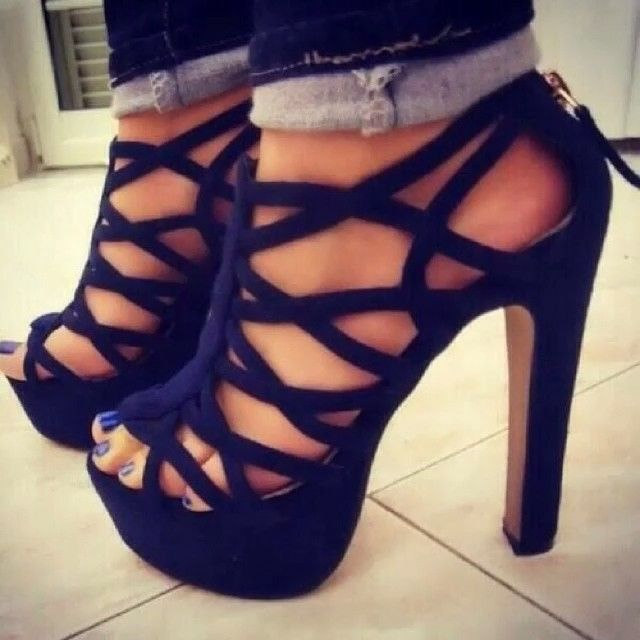 If only i could actually wear these without falling on my face...