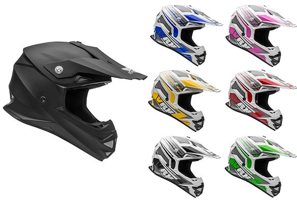 Casque de motocross Vega 2017 - Price:109.99  Casque de motocross Vega VRX. DOT + ECE Dirt bike helmet – Full Face Vega VRX. New for 2017! • Advanced strong and lightweight polycarbonate shell • Multi-channel air-flow system with fully vented EPS lined chin bar • Multi-position removable and vented visor • Removable, washable, replaceable max-flow liner system • Padded D-ring strap system • Value […]  Cet article Casque de motocross Vega 2017 est apparu en premier sur Centre de Liquidation…