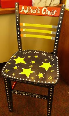 Teaching My Friends!: Author's Chair ~ love this!