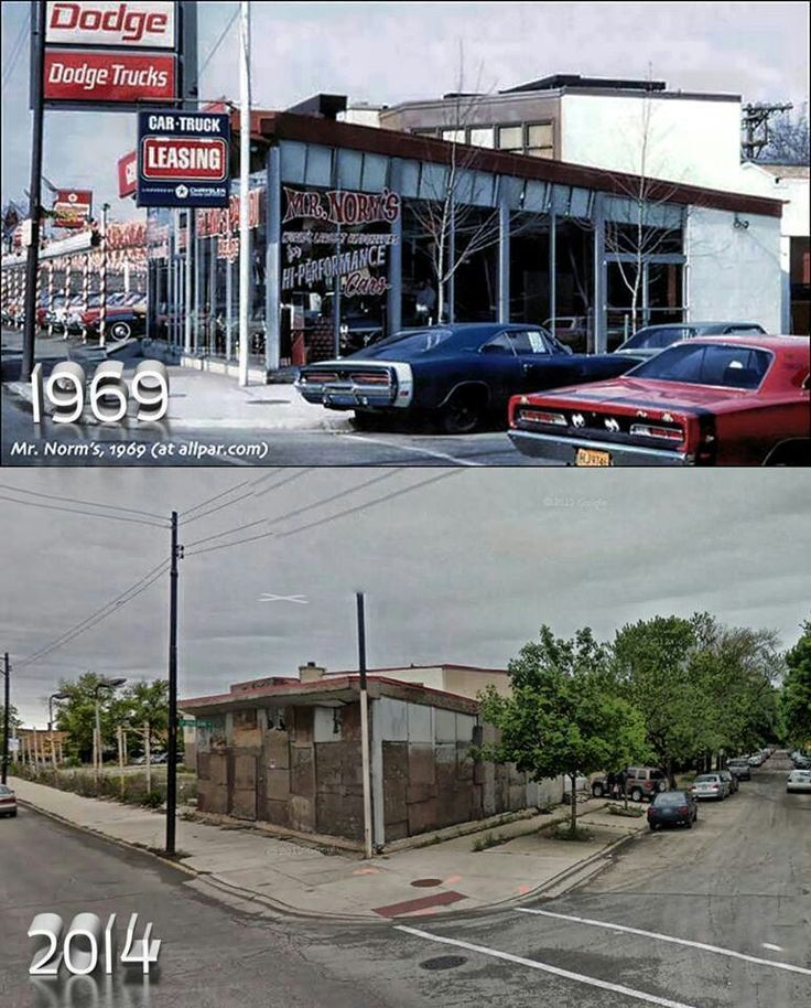 Dodge Dealership: Mr. Norms Grand Spaulding Dodge. In The Years Of, And
