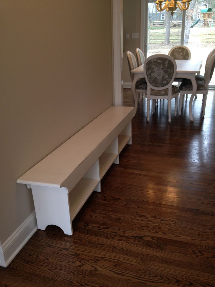 Handy Entranceway Bench Can Also Serve As Extra Setting At Your Kitchen  Table Or Any Other