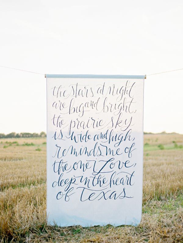 Do something like this for the wedding backdrop, but with a different quote?  | #SimplyWedding