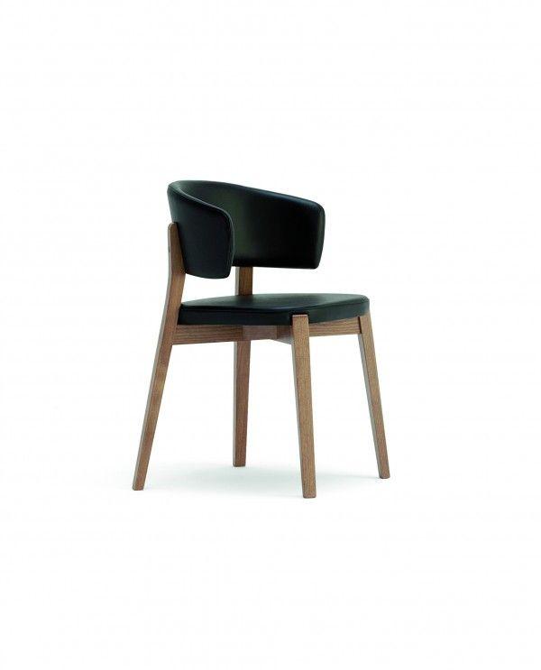 Stuhl Mingus mit großer Lehne - Stühle - Sitzen