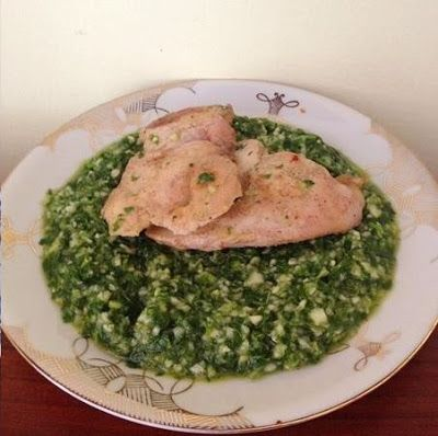 Petrezselymes cukkinisaláta sült csirkemellel ~ Éhezésmentes Karcsúság Szafival