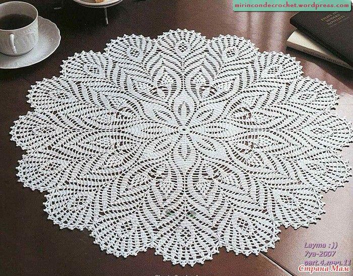 Encontré otro hermoso circular   Mi Rincon de Crochet