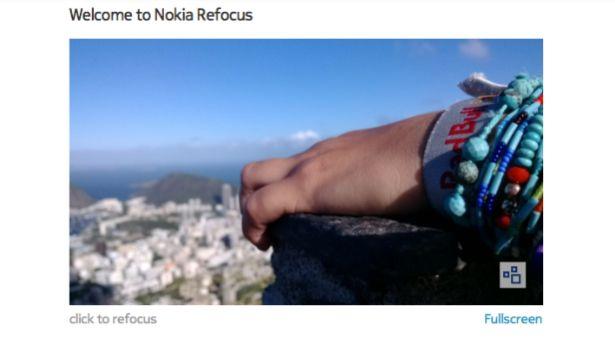 Aplicația Nokia Refocus pentru telefoanele #NokiaLumia cu tehnologie #PureView