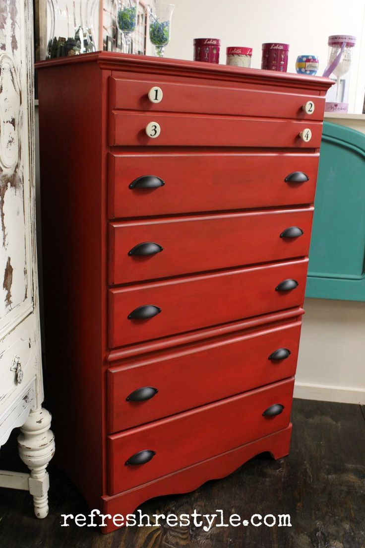 Big Red Chest of Drawers 77 best