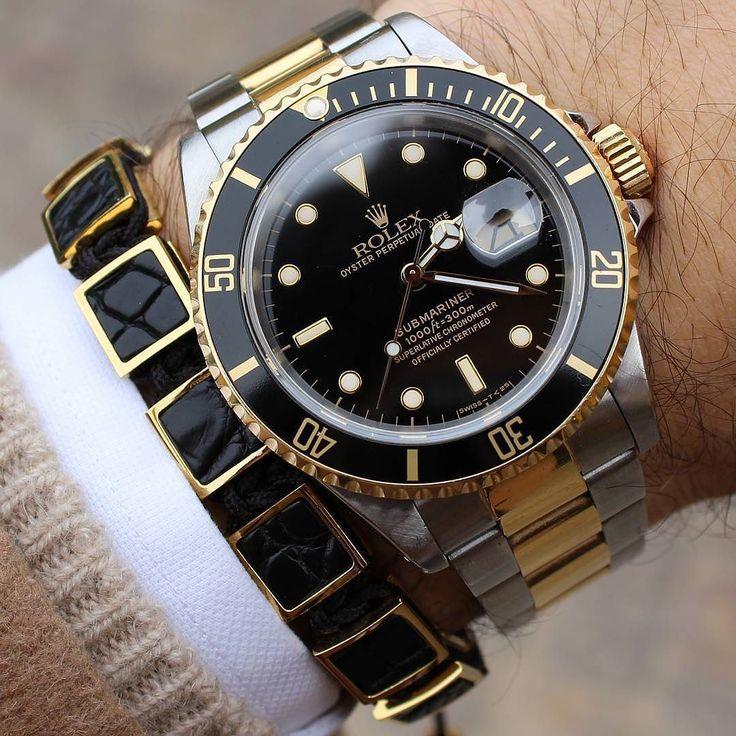 One of my favourite combination!! #Rolex #Submariner Two tone Have a great day Friends 305-377-3335 info@diamondclubmiami.com www.diamomdclubmiam.com #rolexaholics #malefashion #menstyleguide #womw #preppy #entrepreneurs #businessmen #myoutfit #businesscasual #moneymaker #luxurybrand #ootdmen #prestige #dandy #luxurystyle #chronograph #miami #thebillionairesclub #watchfreak #moneymotivated #menwear #bloggerstyle #wristgame #baselworld #gent #leadership #dailyphoto by @b1948