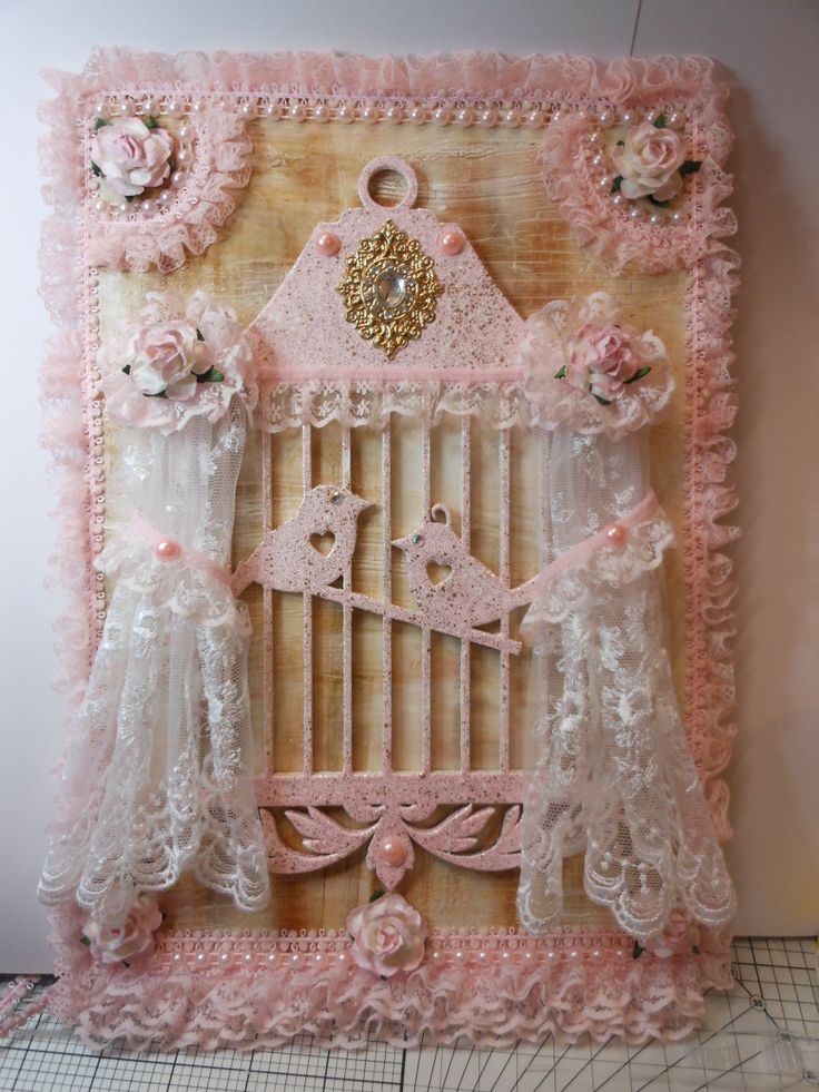 Shabby Chic is a firm favourite thing I like to create, this is now in Maylasia :)