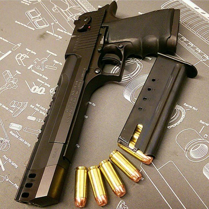 Desert Eagle .50 compensated