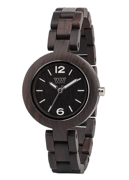 WeWood eco friendly watch - Mimosa Black. 100% Natural Wood with miyota movement. $120 WeWOOD NZ.