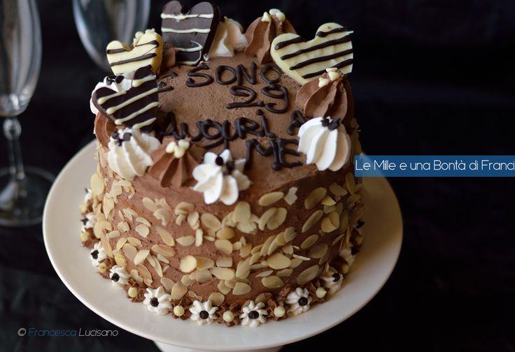 La torta trionfo alle mandorle ? un dolce molto goloso e cioccolatoso ...