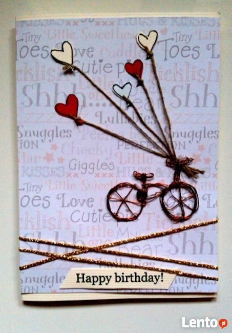 ręcznie robione kartki urodzinowe - Hledat Googlem
