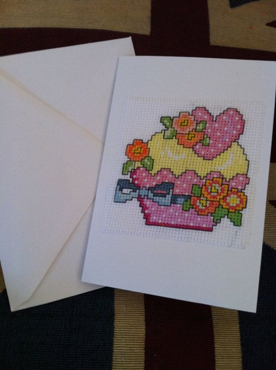 Hand made cupcake greetings/birthday card on Etsy,