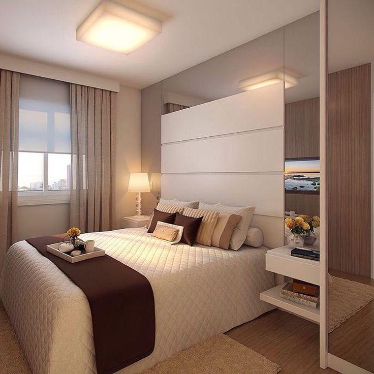Inspiração para um quarto cheio de charme e aconchego ❤️❤️❤️ - #quarto #quartodecasal #design #decoração #arquitetura #acasaqueeuquero #novidades #instagram