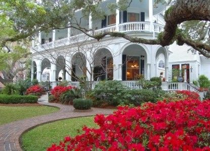 Romantic charm at the Two Meeting Street Inn in Charlestown South Carolina