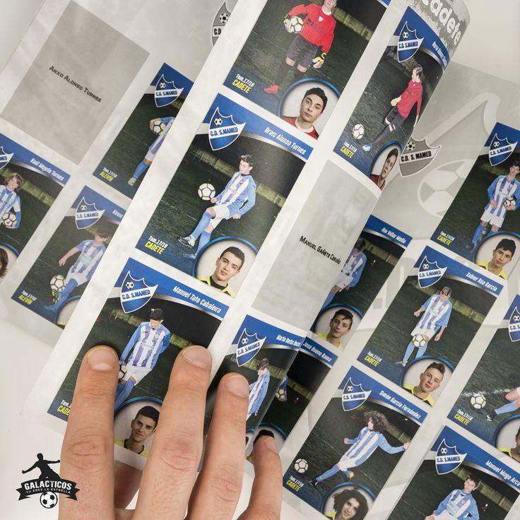 Álbum de cromos C.D. San Mamed 2017/2018 #diseñoGalicia #galiciaDiseño #Yeti #galiciaCalidade #galicia #diseño #comunicacion #love #vedra #santiagoDC #trabajoBienHecho #imagenCorporativa #instagood #happy #swag #design #graphicDesign #amazing #bestOfTheDay #art #creatividad #creative #galacticos #album #cromos #tuereslaestrella #union #equipo #valores #emocion #cadete