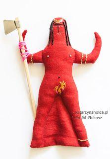 KATARZYNA HOŁDA, ANAT textile, embroidery, h 22,5cm, 2012 katarzynaholda.pl