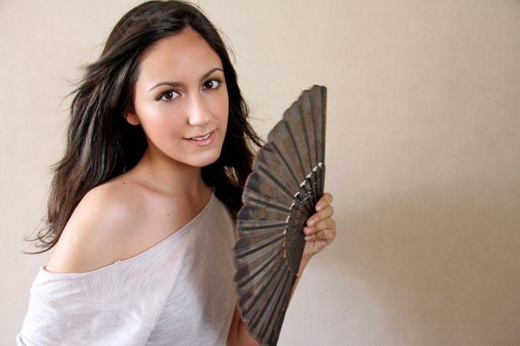 Maquillaje  Book personal Makita. Fotografía. Marcia Cifuentes