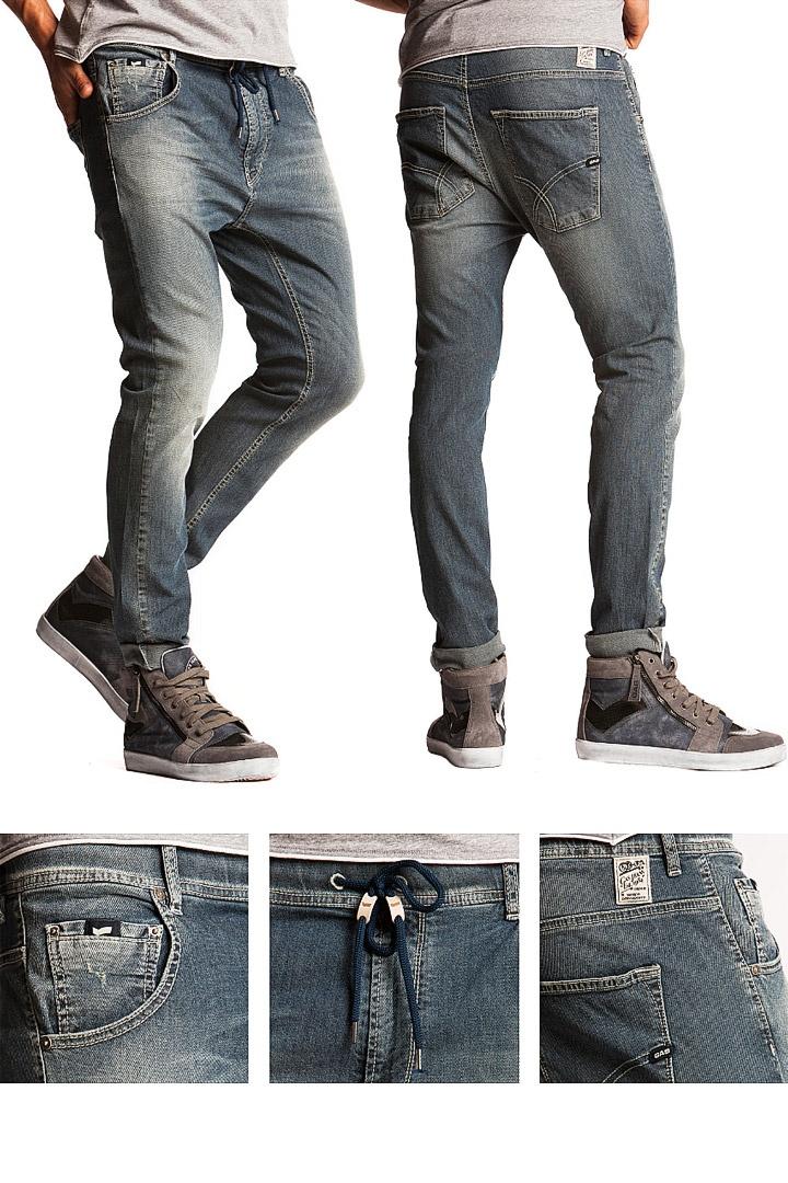 SS13 Men's Jeans. Fit: carrot Model: Ramon