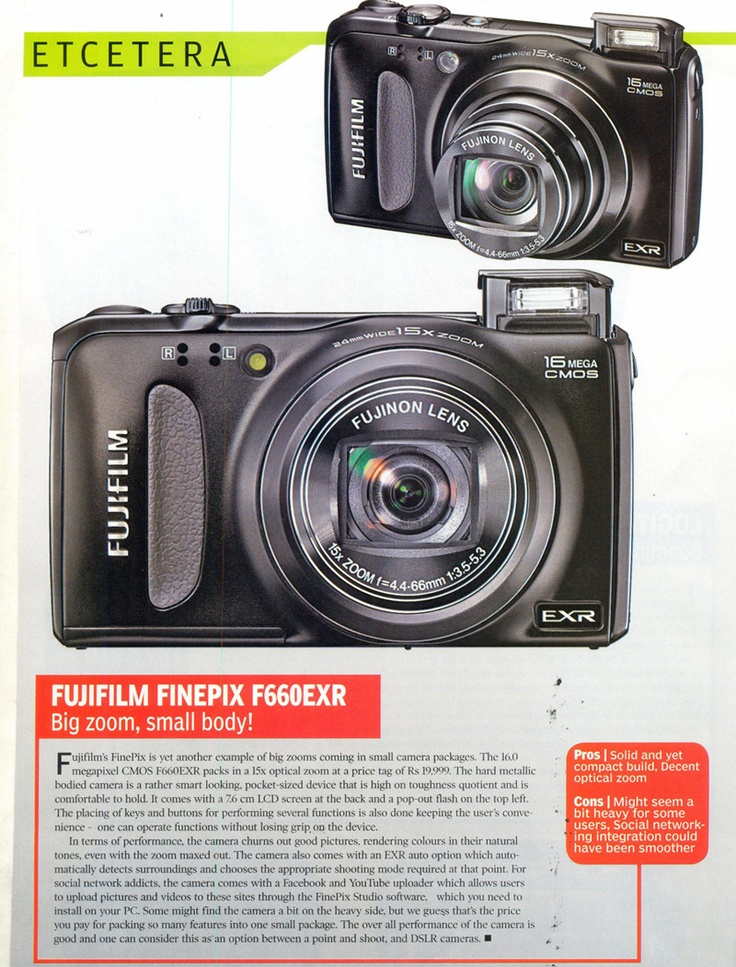 F660 Review in Magazine