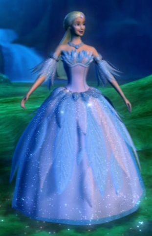 Barbie Swan Lake Odette Dress Costume. I love the sparkle!
