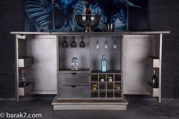 Prachtige #industriële #bar #barak7nl #design #interieur #meubel