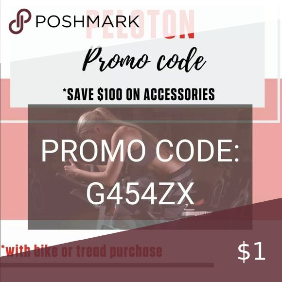 Peloton Promo Code Save 100 Code G454zx Save 100 Off Accessories With A Bike Or Treadmill Purchase From Peloton Promo Co In 2020 Promo Codes Peloton Coding