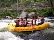 Rafting the Nantahala River one of the most #Fun things we've done on a #Family trip!