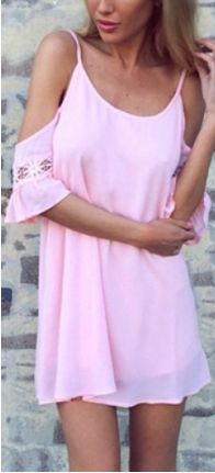 love this pink dress