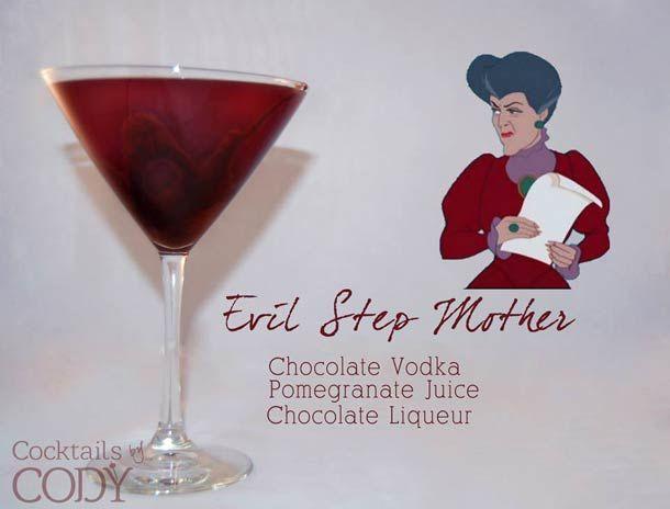 """Des recettes de cocktails aux couleurs des personnages Disney, les """"Disney Cocktails"""" ! De quoi donner des idées..."""