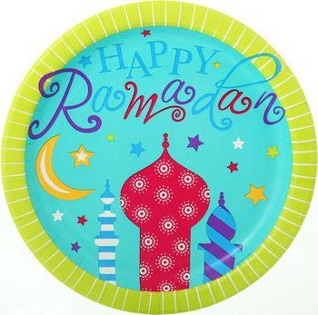 Happy Ramadan Plates!!!  https://www.facebook.com/lanterncourt http://www.lanterncourt.com/