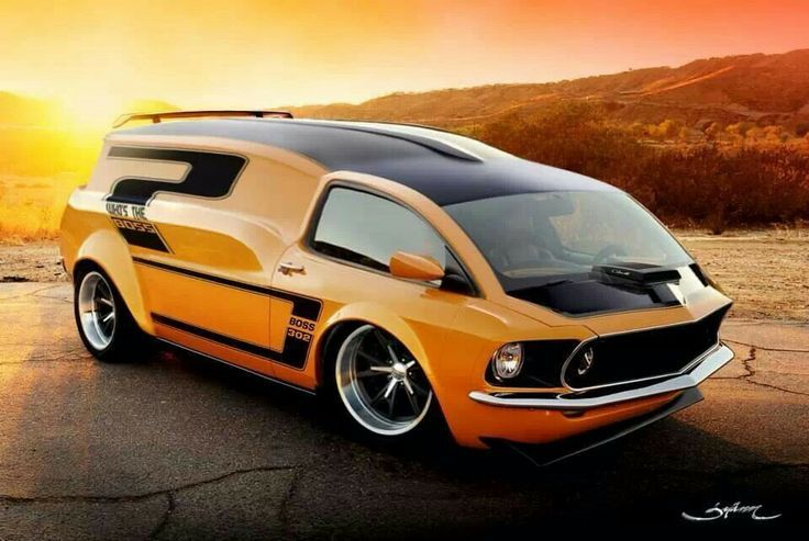 Ideas for my new street rod: (pinterest.com/gary5mith/ideas-for-my-new-street-rod/) StangVan Boss 302