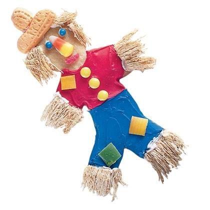 Halloween-Food idea-Scarecrow Cookies