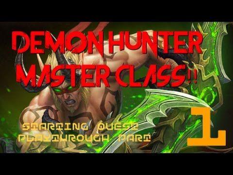 WoW LEGION: DEMON HUNTER Starting Quests Playthrough  First Look (LIVE SERVER) PART 1 #worldofwarcraft #blizzard #Hearthstone #wow #Warcraft #BlizzardCS #gaming