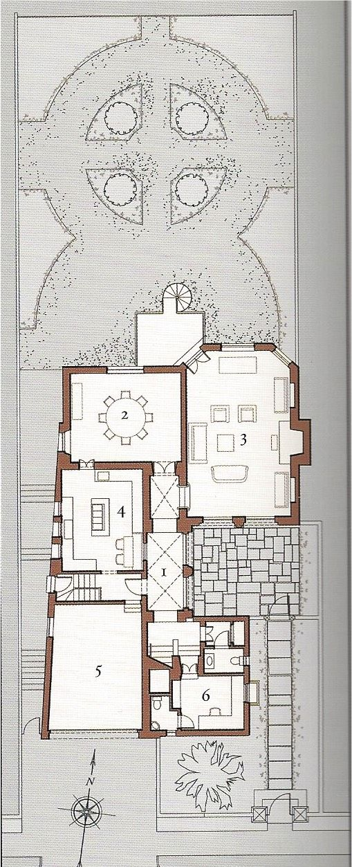 Peter pennoyer floor plans pinterest architectural for Goan house designs and floor plans