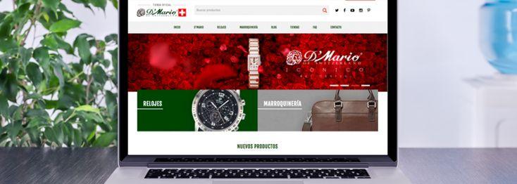 D'Mario  siempre a la vanguardia………….   Sitio Web Oficial de Relojes D´Mario - Colombia, Ecuador y Panamá