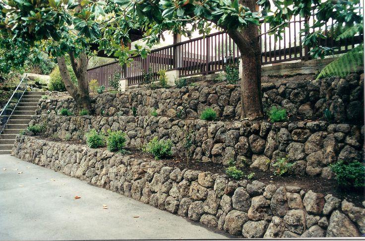 Rock Wall Garden #2 - Rock Walls Landscaping