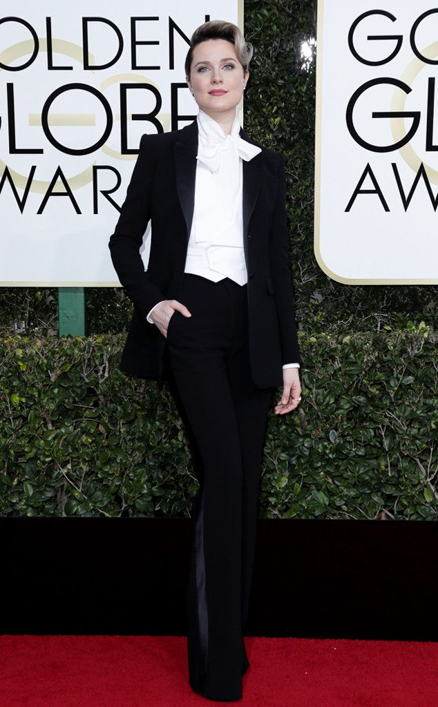 Evan Rachel Wood in Altuzarra at the 74th Annual Golden Globe Awards at The Beverly Hilton Hotel on January 8, 2017 in Beverly Hills, California.
