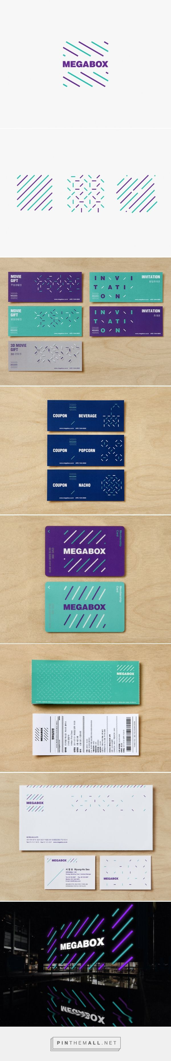 corporate identity for Megabox, a chain of movie theatres - studio fnt... http://www.studiofnt.com/corporate-identity-for-Megabox-a-chain-of-movie-theatres