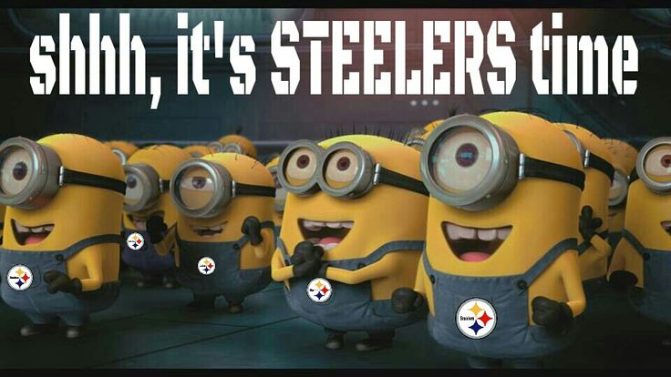 Pittsburgh Steelers~Shh, it's Steelers time