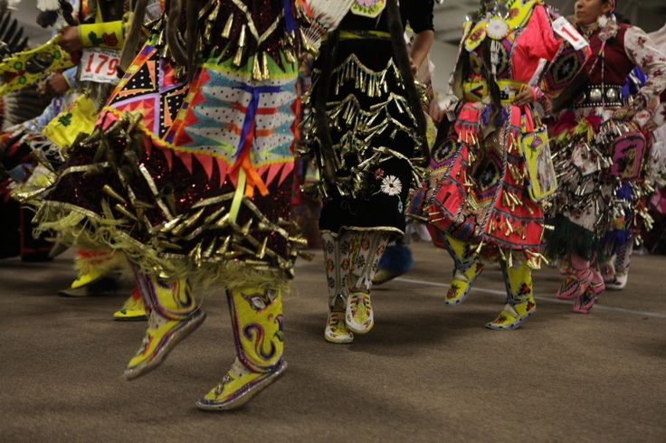 Jingle dancers @ the Southern Ute Bear Dance Pow Wow - 2012 ICTMN.com