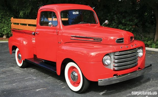 1950 Ford F1 Pickup @Car Pictures classic cars, vintage cars, old cars, car pictures,