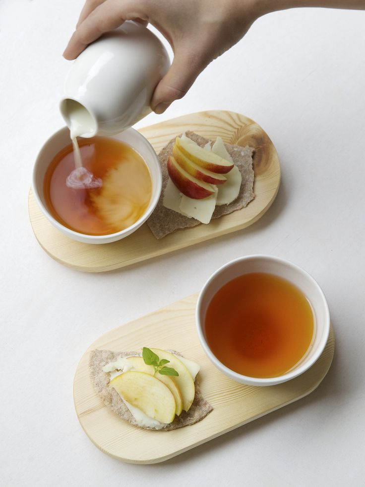 Sara Pereyra teacup sets and Minija Wang creamer