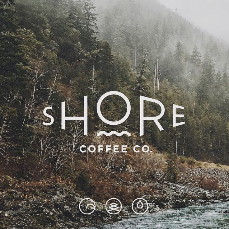Brand identity for Shore Coffee Co by Loki Creative