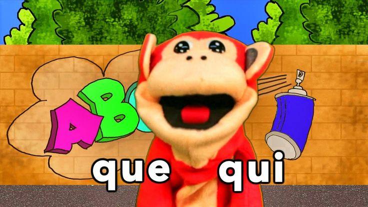 Sílabas que qui - El Mono Sílabo - Videos Infantiles - Educación para Ni...
